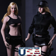 "1/6 Women Tactical Jacket Set For 12"" Phicen Hot Toys Female Figure U.S.A."