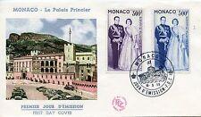 PREMIER JOUR MONACO / PA 71/72  - COUPLE PRINCIER - 16 Mai 1959
