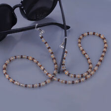 3pcs Neck Chain Glasses Beaded Lanyard Cord Cable Strap For Spectacle Sunglasses
