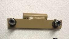 1 TAN HUMVEE X-DOOR MOUNTING HINGE HALF - M998 M1025 M1038 HMMWV  PN 12338650