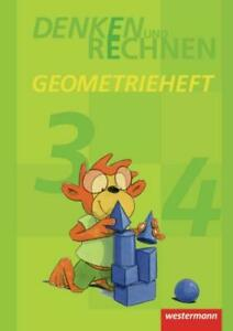Denken und Rechnen. Geometrieheft Klasse 3 / 4. | Broschüre | Denken und Rechnen