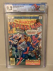 The Amazing Spider-Man #174 CGC 9.2 Limited NY City Label Punisher Hitman