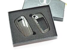Deluxe Carbon Remote Flip Key Cover shell case for Audi A1 A3 A4 TT A6 TC0002