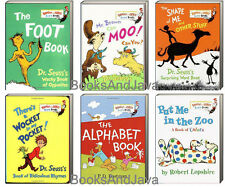 Dr. Seuss Mr Brown Can Moo,Wocket Pocket,Put Me in the Zoo +6 Board Book Set