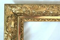 "Picture Frame 16x20/"" Vintage Silver Color Classic Ornate Wood//Gesso PLEXI 296S"
