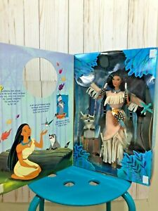 "Disney's POCAHONTAS ""FEATHERS IN THE WIND"" Special Edition Doll 1996 w/ Meeko"