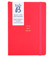 Busy B A6 Notebook - Red