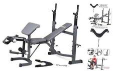 New listing BCB5860 Olympic Weight Bench with Preacher Curl, Leg Developer and Crunch