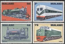 Malawi 1968 Trains/Steam Engines/Locomotives/Railways/Transport 4v set (n19454)