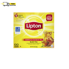 Lipton Tea Bags Black Tea 8 oz 100 Count FREE SHIPPING+BEST PRICE
