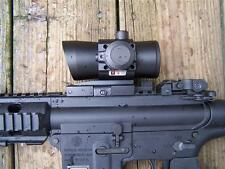 NCSTAR DLB140R 1X40MM LED RED DOT SIGHT TACTICAL SCOPE W/ RED LASER QUICK DETACH