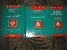 1995 Chrysler Sebring Avenger Shop Service Repair Workshop Manual Set W SUPPLME
