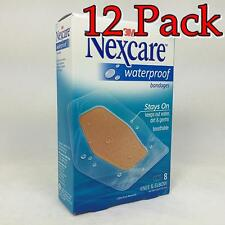 Nexcare Waterproof Clear Bandage, Elbow and Knee, 8ct, 12 Pack 051135813874X161