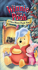 Winnie the Pooh - A Very Merry Pooh Year (VHS, 2002)