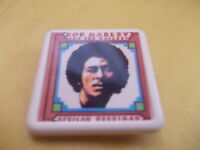 BOB MARLEY AFRICAN HERBSMAN ALBUM COVER    BADGE PIN