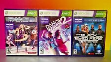Dance Central 2, Masters, Black Peas Xbox 360 3 Game Bundle -Complete w/ Manuals