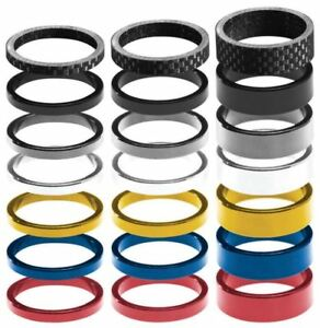 """1-1/8"""" / 28.6mm headset spacers (3pc sets)"""