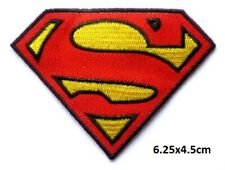 HIS AND HERS SET OF SUPER MAN AND SUPER GIRL IRON/SEW ON PATCH