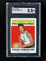 1971 Topps #1 Oscar Robertson SGC 5.5