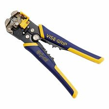 Wire Stripper Cutter Tool Cable Crimper Plier IRWIN VISE-GRIP Self Adjusting