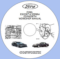 Ford Escort & Sierra Cosworth Factory Workshop Manual Includes Wiring Diagrams