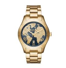 Michael Kors Watch * MK6243 Layton World Map Gold Oversized COD PayPal
