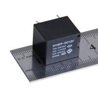 5 pcs Mini PCB Type Electronic Power Relay 12V DC 5-pins