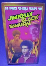 Black Samurai Agent For Dragon Jim Kelly Blaxploitation Kung Fu NEW SEALED VHS