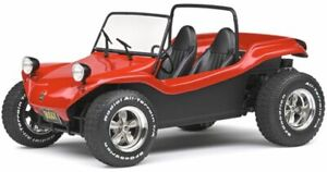 MEYERS MANX BUGGY red and black diecast model  1968 1:18th SOLIDO 1802704