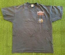 Vintage World Famous Iron Horse Saloon Bike Week 2002 Pocket T-shirt Size XL