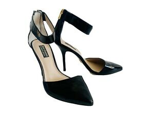 Juicy Couture 'Kristell' Black Patent Heels - Size 8/38