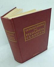 INTRODUZIONE ALLA FILOLOGIA CLASSICA,'51 Marzorati[Bignone,papirologia,epigrafia