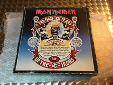 IRON MAIDEN THE FIRST TEN YEARS LP 10 VINYL VERY GOOD RARE BOX SHIPPING FREE