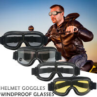 Helmet Goggles Anti-UV windproof Glasses Eyewear Motorcycle Motorbike Biker