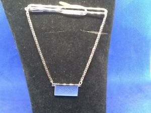 Swank Sterling Silver Tie Tack