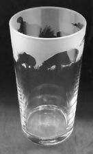 More details for hippo frieze boxed 57cl conical 1 pint glass