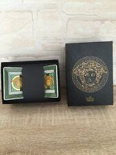 Rosenthal Versace Medusa Green Grün Schale Eckig 8 x 8 cm Mit OVP Selten 2 Stück