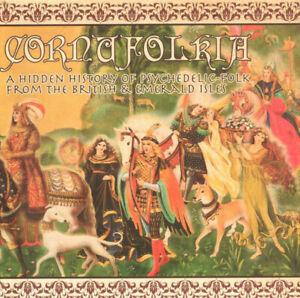 2 CD:  Cornufolkia Psychedelic Folk Compilation  New,not sealed AUDIO ARCHIVES