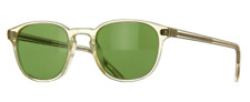 Oliver Peoples OV 5219S Fairmont Sun 109452 Buff w/Green C Sunglasses