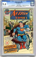 Action Comics #396  CGC 9.4  NM  off White Pages
