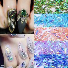 10pcs Nail Art 3D Glitter Horse Rhinestone Crystal Tips DIY Decoration Diamond