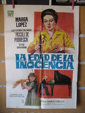 A5494  LA EDAD DE LA INOCENCIA - MARGA LOPEZ, LOS TITERES ITALIANOS PICOLI DE PO