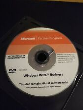 Windows Vista Business 64 Bit Cd Only