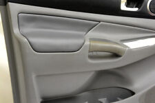 Door Panel Armrest Leather Synthetic for Toyota Tacoma 05-15 Gray