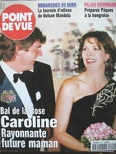POINT DE VUE N° 2644 CAROLINE DE MONACO BAL DE LA ROSE NELSON MANDELA INUIT 1999