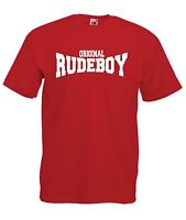 ORIGINAL RUDE BOY ska punk skinhead music tee xmas birthday mens womens T SHIRT