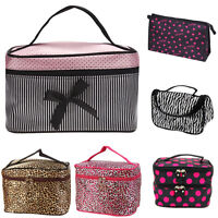 Women Multifunction Travel Cosmetic Bag Makeup Case Pouch Toiletry Organizer Kit