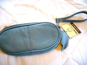 """GENUINE LEATHER EYEGLASS/ SUNGLASS CASES """"SINGLE OR DOUBLE""""~VERY SOFT~NOW COLORS"""