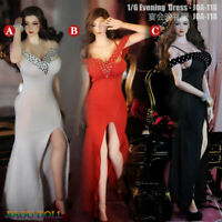 1:6 Female Sexy Evening Dress Clothes JOA-118 Fit 12'' PH TBL JO Figure Body