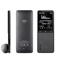 Bluetooth MP3 Player 8GB Memory Audio Speaker Pedometer APE FLAC Music W8 / BK